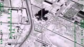 بالفيديو.. روسيا تقصف مصافي النفط ومحطات الوقود التابعة لداعش