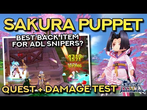 HOW TO GET SAKURA PUPPET + DAMAGE TEST VS. QUIVER AND DEVIL