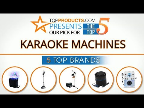 Best Karaoke Machine Reviews 2017 – How to Choose the Best Karaoke Machine