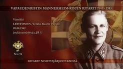 Mannerheim-ristin ritarit nro:t 61 - 80