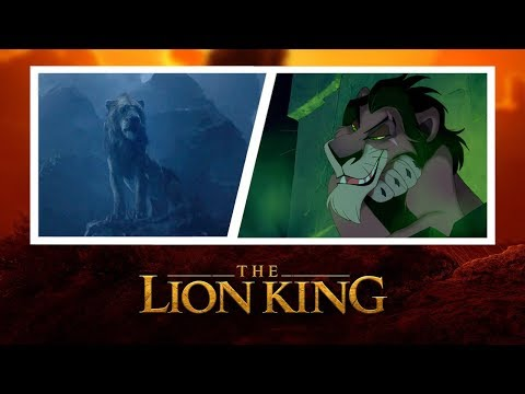 Lion King Hybrid Be Prepared 2019 Music With 1994 Video Youtube