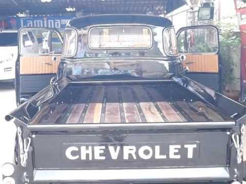 gogo chainatsound ออกแบบติดตั้งเครื่องเสียงให้ chevrolet truck โบราณ