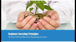 Beginner Investing Principles