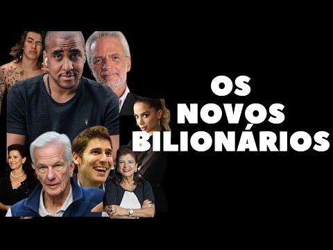 Lista da Forbes mostras os 12 mais ricos do Brasil em 2021