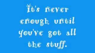Barenaked Ladies - Shopping (Lyrics)