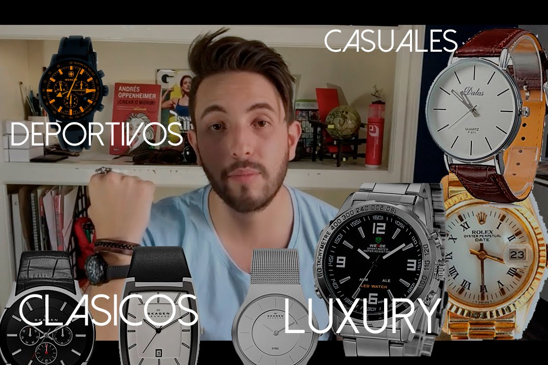 Tipos De Relojes Para Hombre Jr Style For Men Youtube