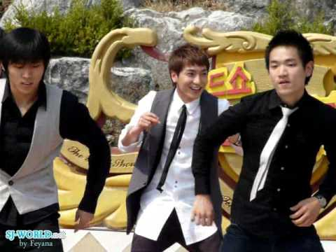 [Fancam] Super Junior 2009.04.08 - Eeteuk dancing cuts (Road Show)
