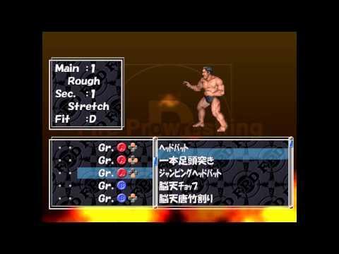 Fire Pro Wrestling D - Dreamcast English Translation v0 95