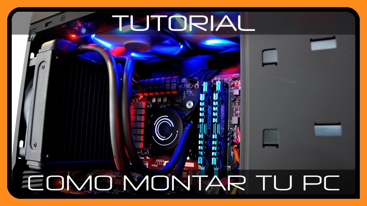 Como montar un PC GAMER -  Paso a Paso - Parte 1