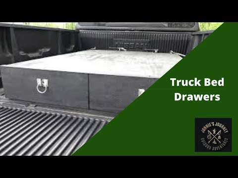Truck Bed Drawers DIY