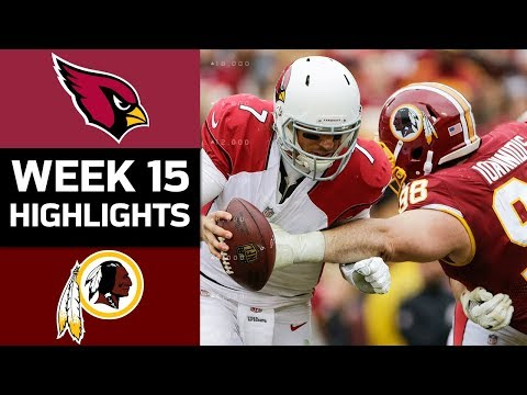 Cardinals vs. Redskins | NFL Week 15 Game Highlights