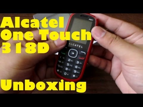 Alcatel One Touch 318D Unboxing - Basic Dual-SIM With Camera & Bluetooth For PHP 1,300