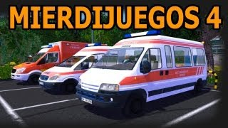 ¡Una Ambulancia! - Mierdijuegos 4 - Emergency Ambulance Simulator