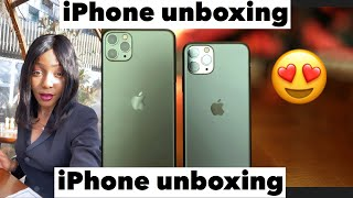 NEW IPHONE 11 PRO MAX UNBOXING (Midnight green) 2019