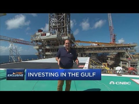 CNBC tours Shell's offshore drilling platform