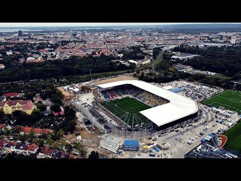 Budowa stadionu Pogoni Szczecin :: 18.09.2021