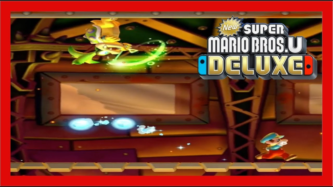 How To Beat New Super Mario Bros U Deluxe Nintendo Switch Lite