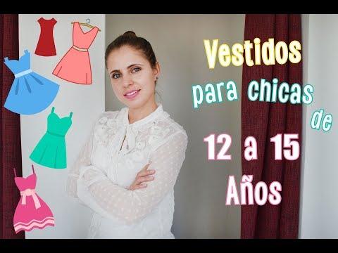 Vestidos Para Chicas De 12 A 15 Años Ada Pelayo