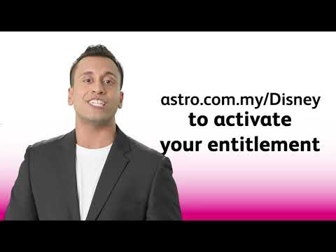 Access Disney+ Hotstar on 1 June when you create and link your Astro ID