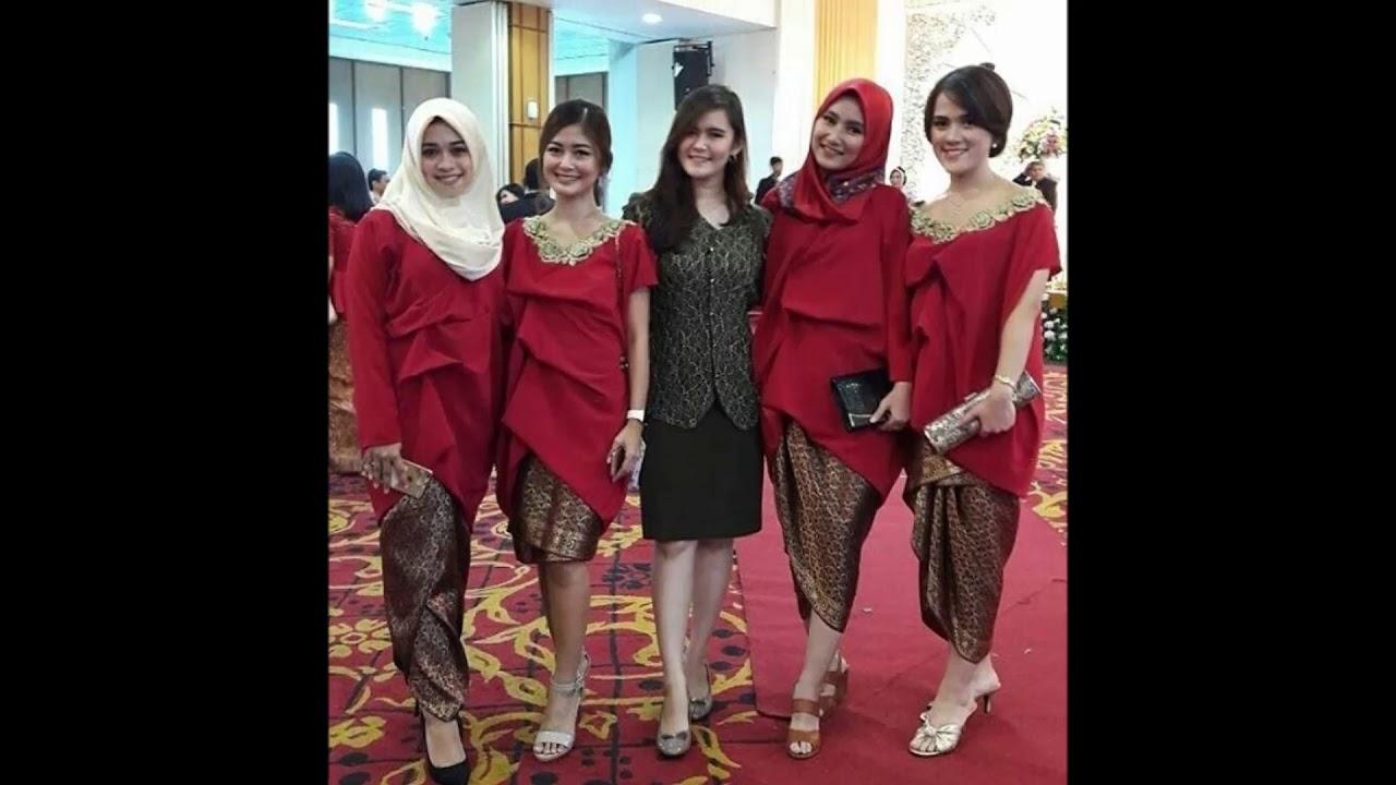 085229756995 Kebaya Casual Modern Dengan Jilbab Atau Sanggul