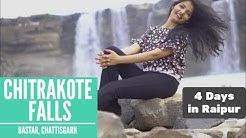 Raipur Trip From Delhi | Chitrakote Waterfalls Bastar | Chattisgarh | Telibandha Lake | Naya Raipur