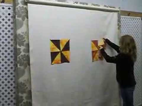 Design Wall For Quilting easy quilt systems - retractable design wall - youtube