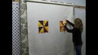 Easy Quilt Systems - Retractable Design Wall
