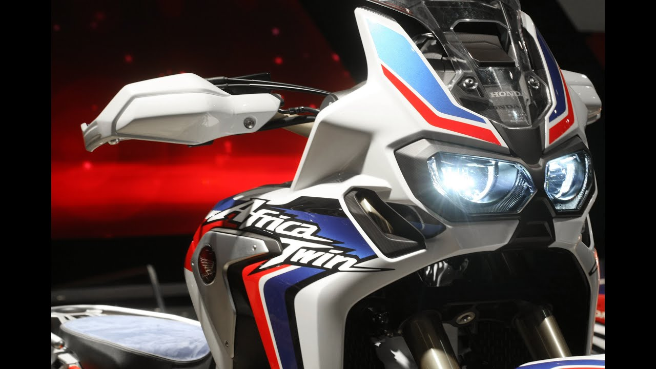Honda Africa Twin CRF 1000 2016 - YouTube