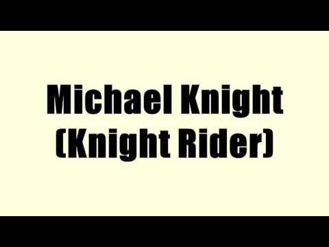 Michael Knight (Knight Rider)