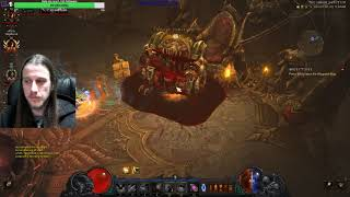 Playing Diablo Season 16 Paragon Level 1120