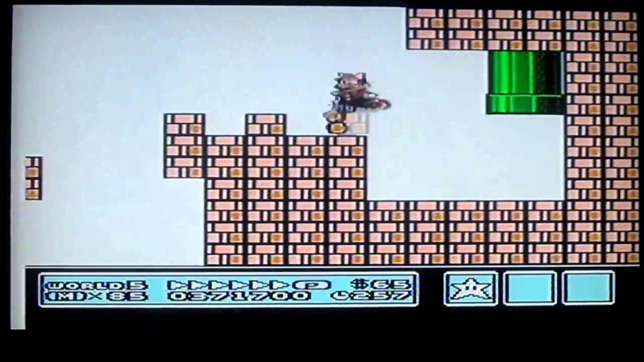 Super Mario Bros 3 World 5 Spiral Castle