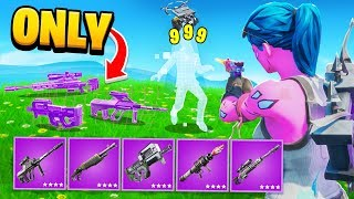 PINK GHOUL = PINK WEAPONS ONLY CHALLENGE - Fortnite Battle Royale