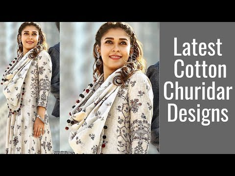 Cotton Churidar Designs | Churidar Patterns in kerala | Churidar designs