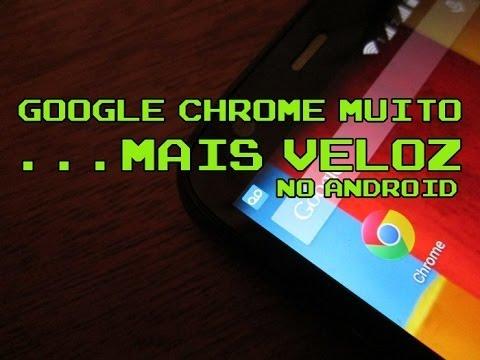 Como deixar o Google Chrome mais rápido no Android