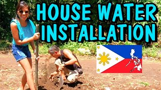 Filipina Living in Province   Cheap water installation in Mindanao