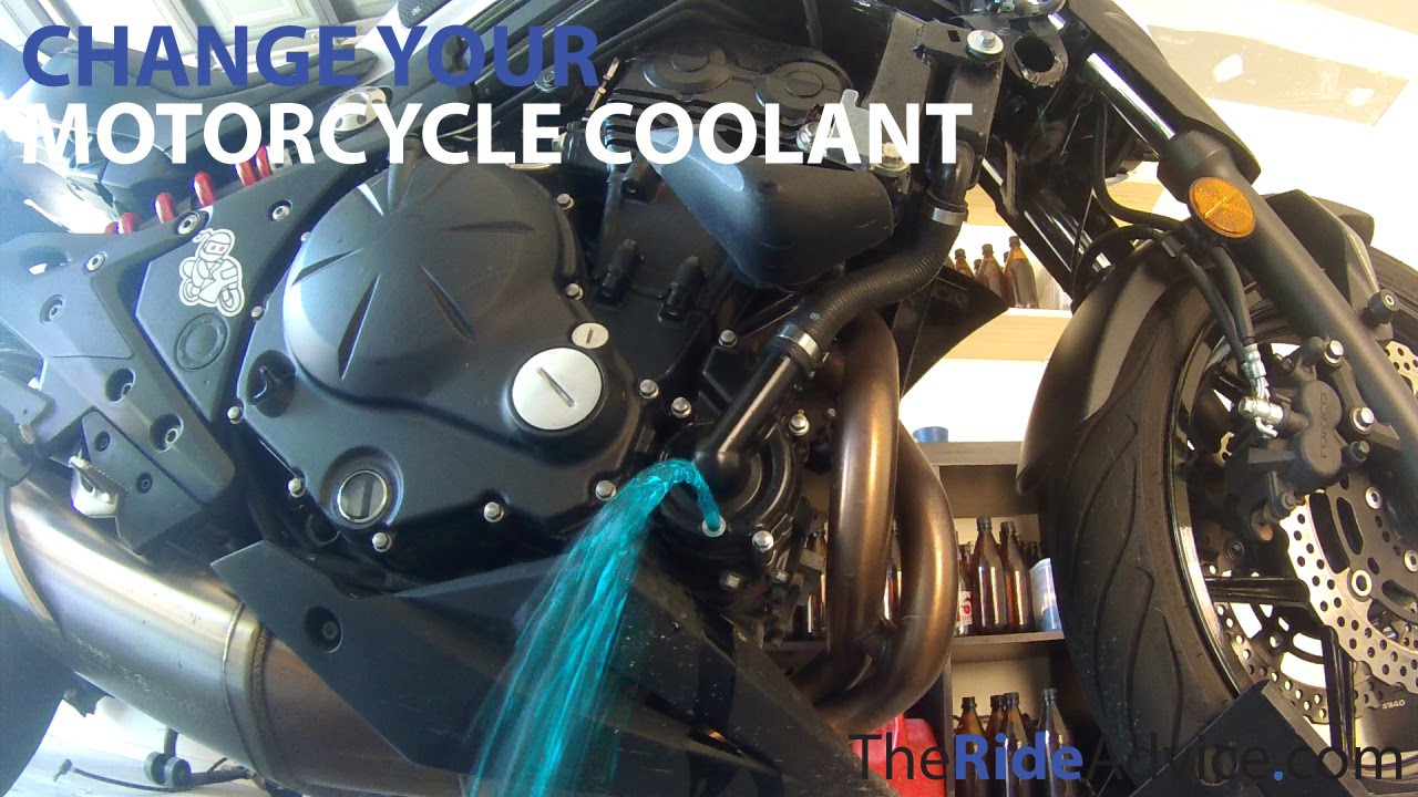 How To Flush Your Motorcycle Coolant Change Motorcycle