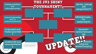 THE 2V2 SHINY TOURNAMENT UPDATE! | Roblox Pokemon Brick Bronze