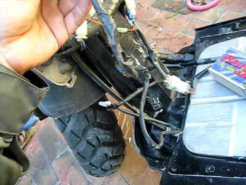 wiring a posh cdi for honda ruckus 50cc mvi 3071 avi youtube rh youtube com Yamaha Cdi Wiring Diagram 5 Pin CDI Diagram