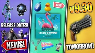 14 Days of Summer Tomorrow, New Revolver, 2 Bundle Release Dates, Sophia Skin! (Fortnite News)