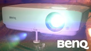 benQ MH530FHD DLP Projector Unboxing & Review  The BEST Budget Gaming Projector?