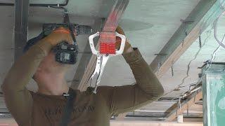 видео Как сделать криволинейный потолок?
