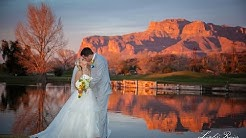 Intro to The Views At Superstition in Gold Canyon, Arizona - By Distinctive Wedding Videos