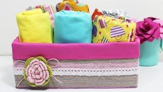 DIY – Organizador com Caixa de Sapato – Segredos de Aline