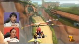 5月29日発売、Wii U「マリオカート8」のTVCM。 関ジャニ∞最速は誰だ!?篇...