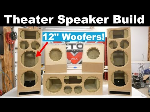 Home Theater Speakers Build Diy Sound Group 1299 And Volt 10