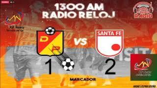 Deportivo Pereira vs Independiente Santa Fe