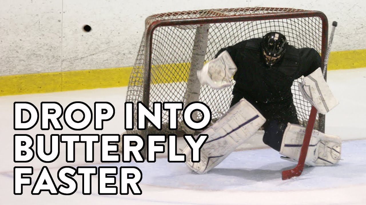 Off Ice Goalie Training How To Drop Into Your Butterfly Faster