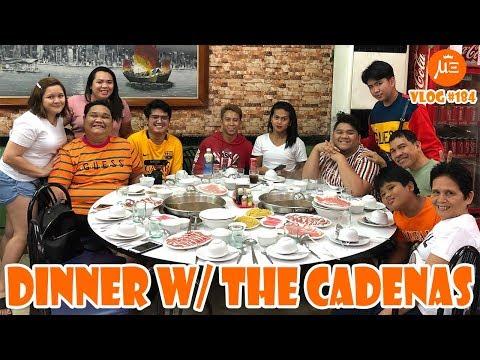 Foodtrip With Mareng Lloyd Cafe Cadena & Family   VLOG #184