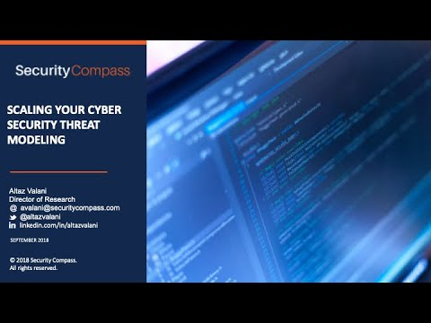 Webinar: Scaling Your Cybersecurity Threat Modeling