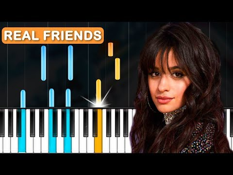 Camila Cabello - Real Friends Piano Tutorial - Chords - How To Play - Cover